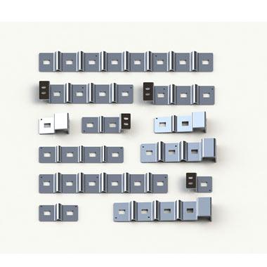 Aluminum bar in series
