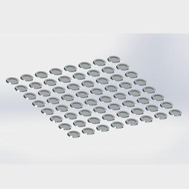 Sealing aluminium nail